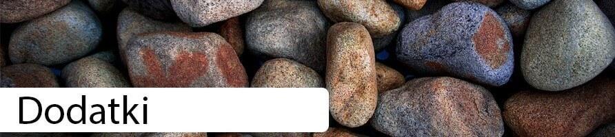 Mech, Kamienie ozdobne, piasek ozdobny