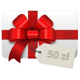 Tarjeta de regalo 50 zł Tarjetas de regalo