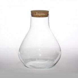 """Vase 30 cm """"Buret"""" with a cork lid Home"""