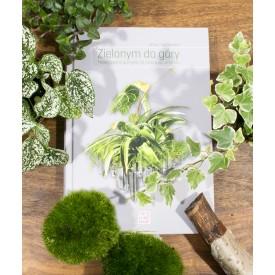 """Palmowy zestaw2 37cm słój z poradnikiem """"Zielonym do góry"""" Las w słoiku DIY"""