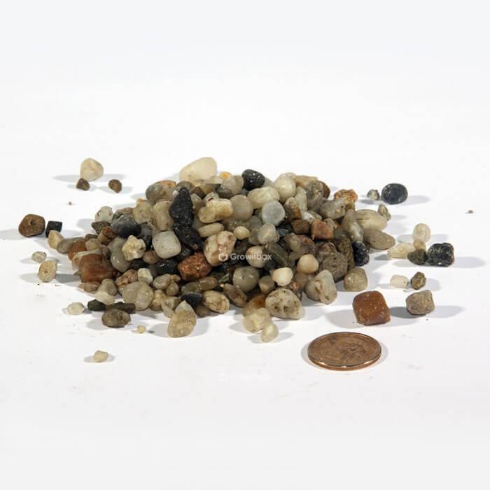 Kolorowy otoczak drobny Kamienie