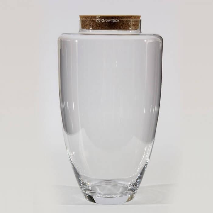 """Vase 45 cm """"Jogo"""" with a cork lid Glass jars"""