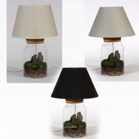 Rybkadesign Lamp - Stone bark with pillow moss Home