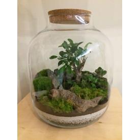 """Vase jar 38 cm """"Keg"""" without lid Home"""