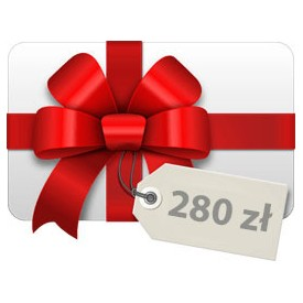 Geschenkkarte 280 PLN Geschenkkarten