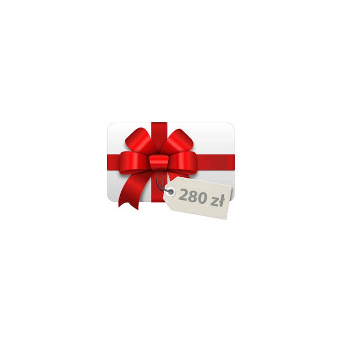 Gift card PLN 280 Gift cards