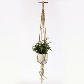 copy of Eco macrame brown and white Home