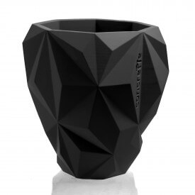 Geometric black concrete cover Concrete decorations