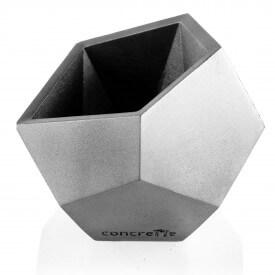 Geometric silver square Concrete decorations