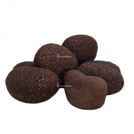 Lava pebble Stones