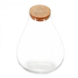 """Vaso barattolo """"Barcellona"""" da 37 cm con coperchio in sughero"""