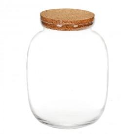 Jar vase 32 cm with a cork lid Jars