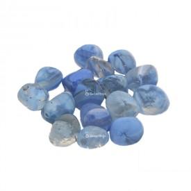 Glass pebble blue Stones