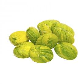 Céramique galet vert Pierres